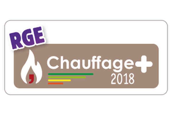 RGE Chauffage plus 2018 - Installateur VALENCIENNES CAMBRAI